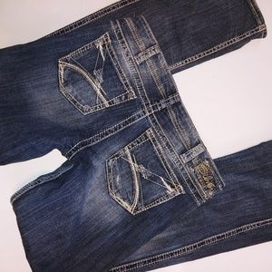 Silver Frances Jeans Boot 32x35
